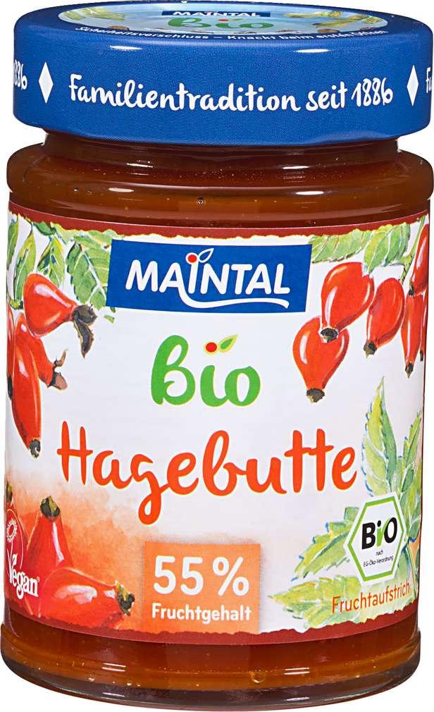 Abbildung des Sortimentsartikels Maintal Hagebutte Fruchtaufstrich 225g