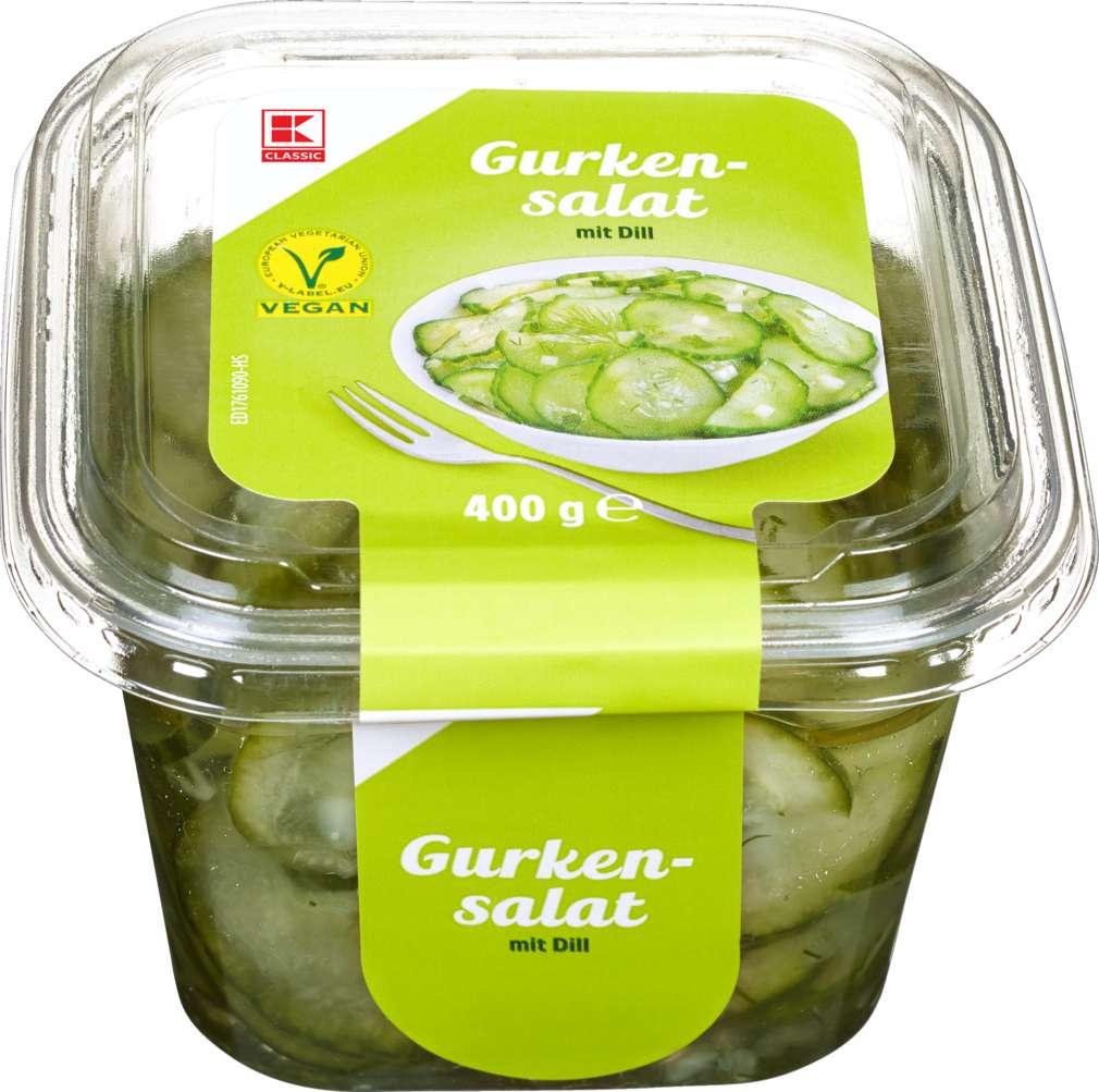 Abbildung des Sortimentsartikels K-Classic Gurkensalat 400g