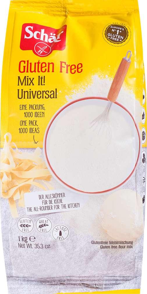 Abbildung des Sortimentsartikels Schär Mix it Mehl 1kg