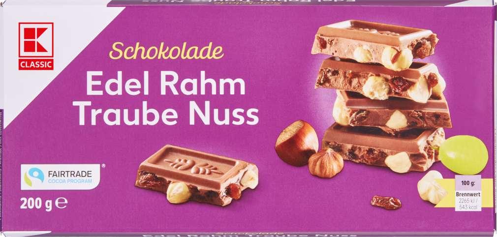 Abbildung des Sortimentsartikels K-Classic Edel Rahm Traube Nuss 200g