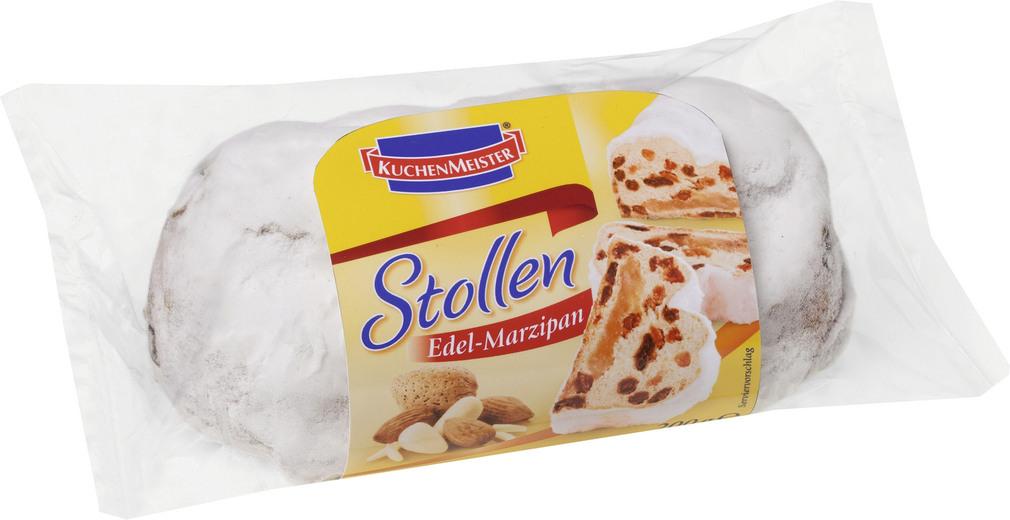 Abbildung des Sortimentsartikels Kuchenmeister Edel-Marzipan Stollen 200g