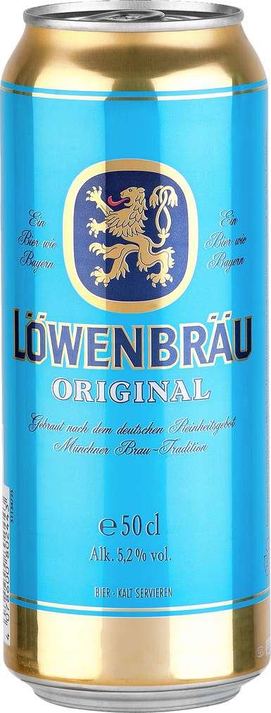 Abbildung des Sortimentsartikels Löwenbrauerei Original Münchner Hell 0,5l