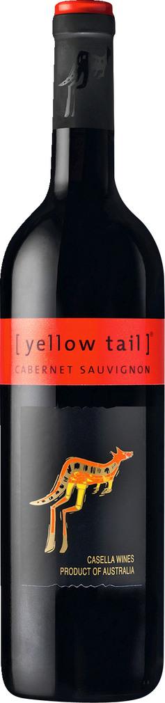 Abbildung des Sortimentsartikels Yellow Tail Cabernet Sauvignon 0,75l