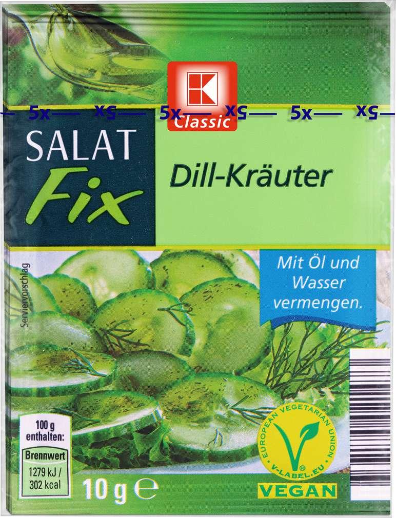 Abbildung des Sortimentsartikels K-Classic Salat Fix Dill-Kräuter 5x10g