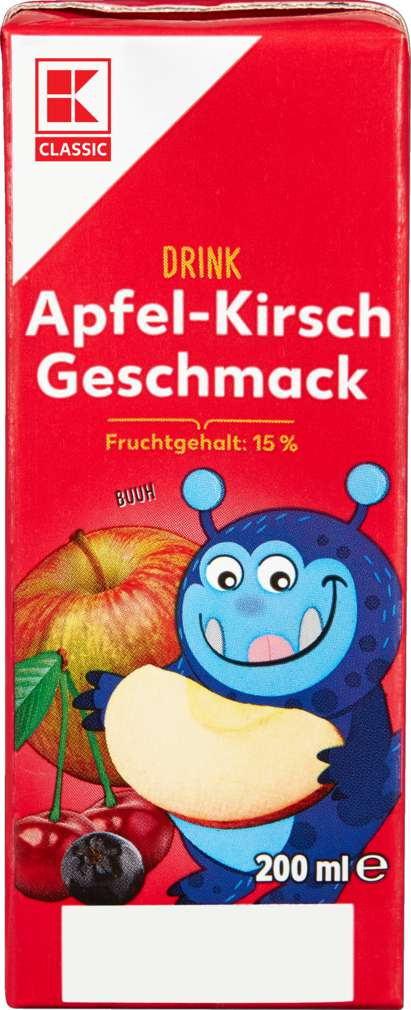 Abbildung des Sortimentsartikels K-Classic Apfel-Kirsch Drink
