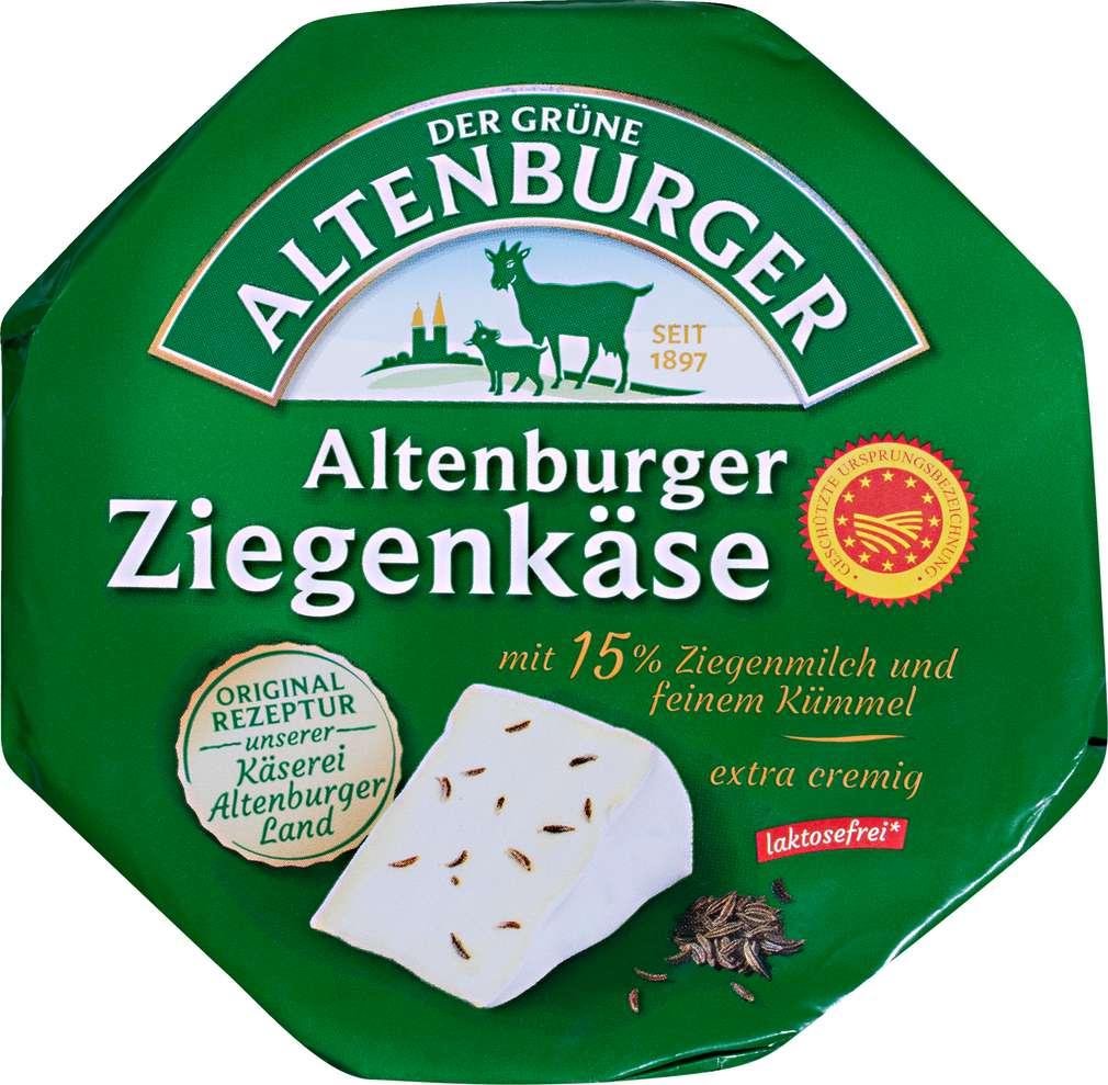 Abbildung des Sortimentsartikels Der Grüne Altenburger Ziegenkäse 250g