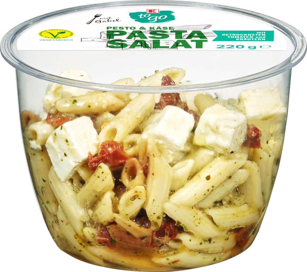 Abbildung des Sortimentsartikels K-To Go Pasta Salat Pesto & Cheese 220g