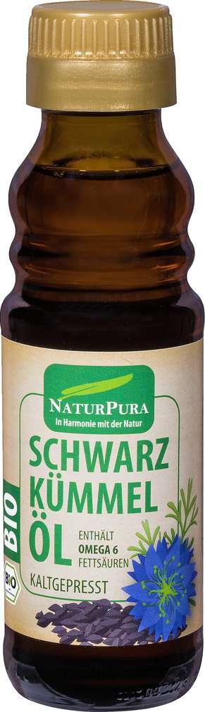 Abbildung des Sortimentsartikels NaturPura Bio-Schwarzkümmelöl kaltgepresst 100g
