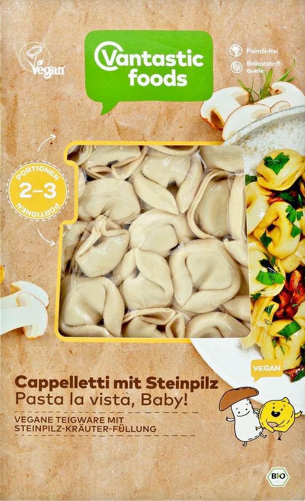 Abbildung des Sortimentsartikels Vantastic Foods Bio-Cappelletti mit Steinpilzen 250g