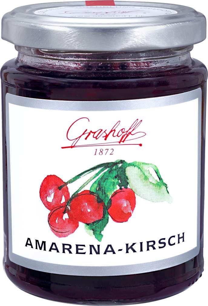 Abbildung des Sortimentsartikels Grashoff Amarena Kirsch Konfitüre Extra 250g