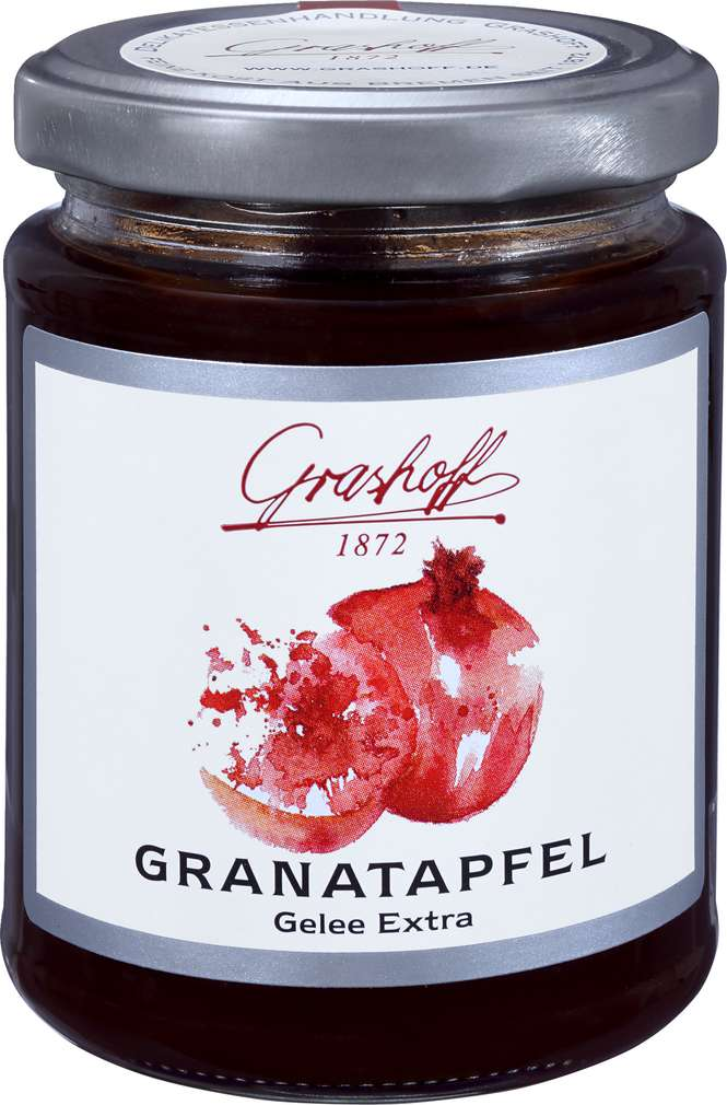 Abbildung des Sortimentsartikels Grashoff Granatapfel Gelee Extra 250g