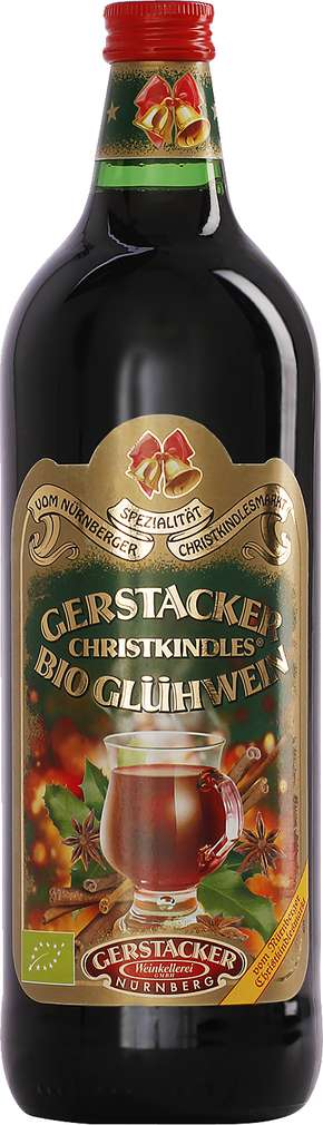 Abbildung des Sortimentsartikels Gerstacker Christkindles Bio Glühwein 1l
