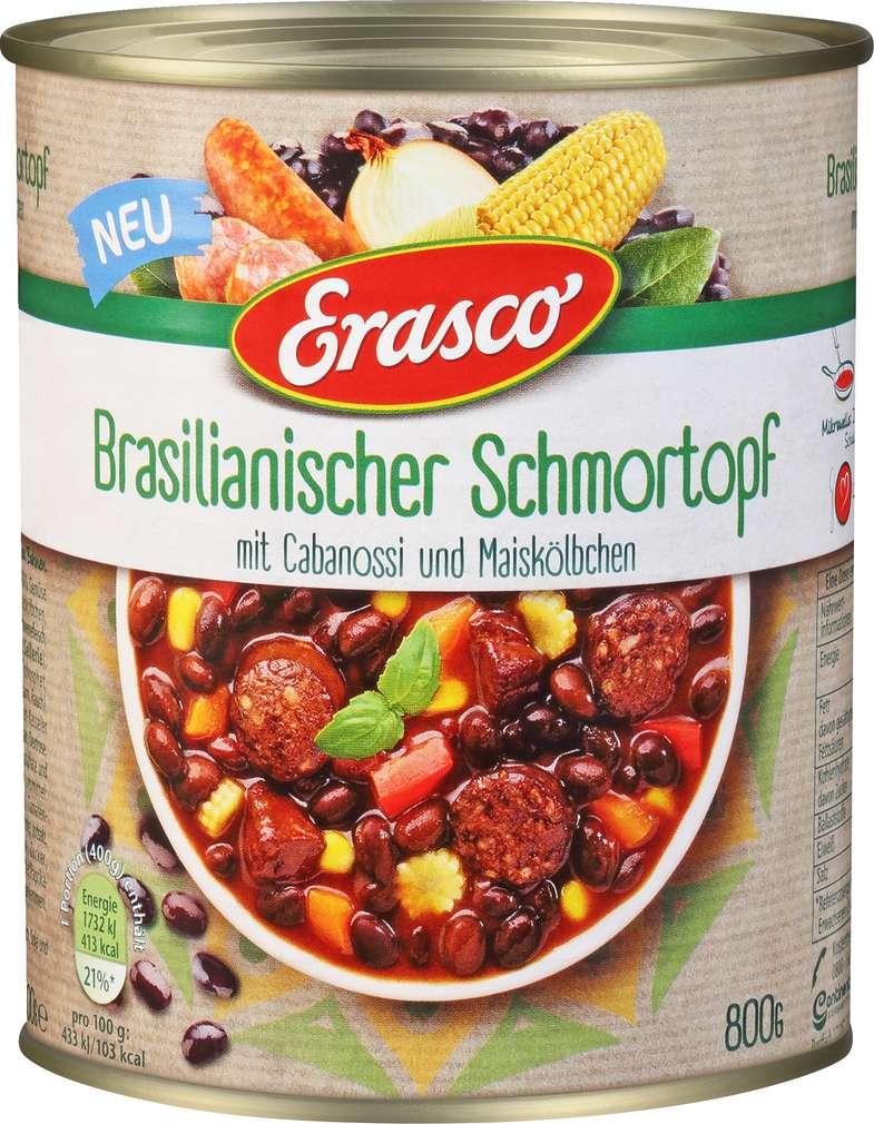 Abbildung des Sortimentsartikels Erasco Brasilianischer Schmortopf 800g