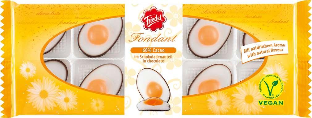 Abbildung des Sortimentsartikels Riegelein Fondant Eier 150g