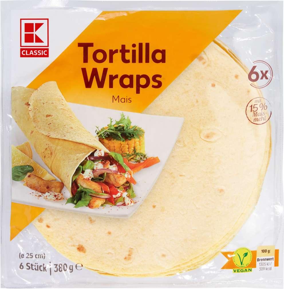 Abbildung des Sortimentsartikels K-Classic Tortillas mit Mais 380g