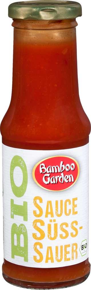 Abbildung des Sortimentsartikels Bamboo Garden Sauce Süß-sauer Bio 210ml
