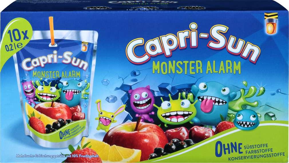 Abbildung des Sortimentsartikels Capri-Sun Monster Alarm 10x0,2l
