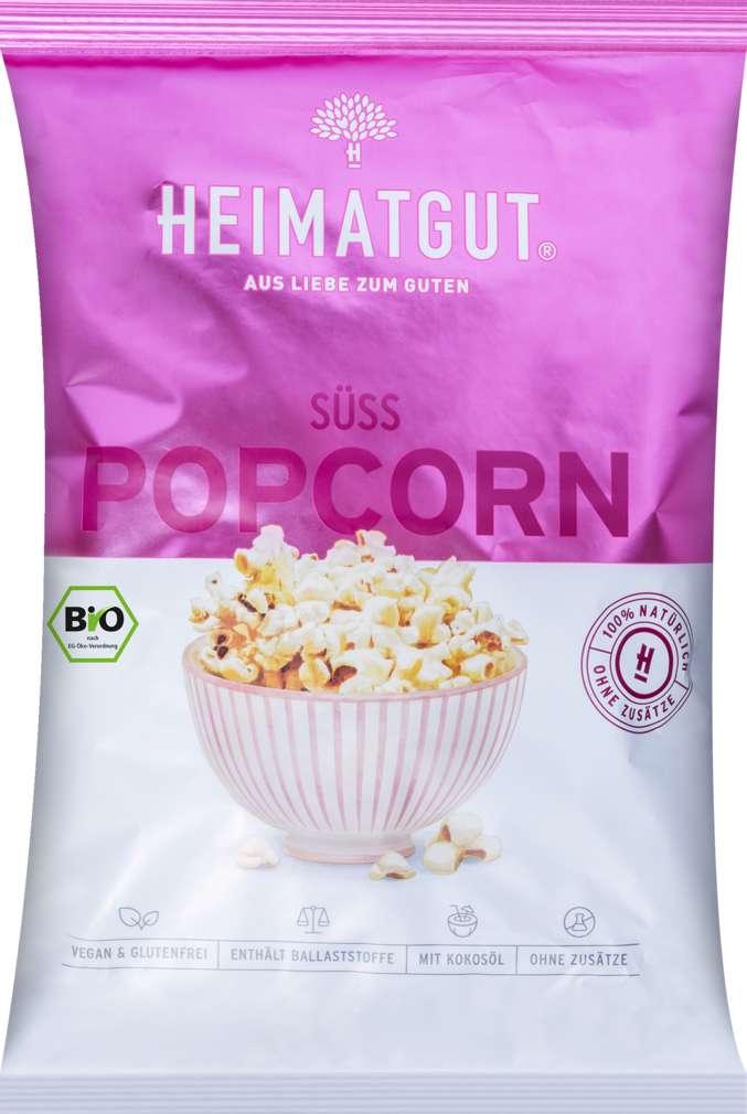 Abbildung des Sortimentsartikels Heimatgut Bio-Popcorn süß 90g