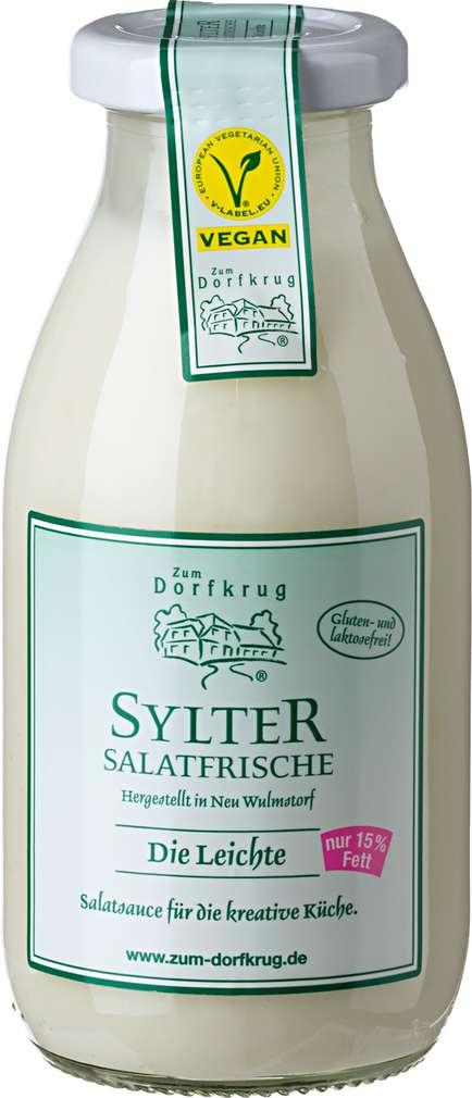 Abbildung des Sortimentsartikels Zum Dorfkrug Sylter Salatfrische 15% Fett, vegan 250ml