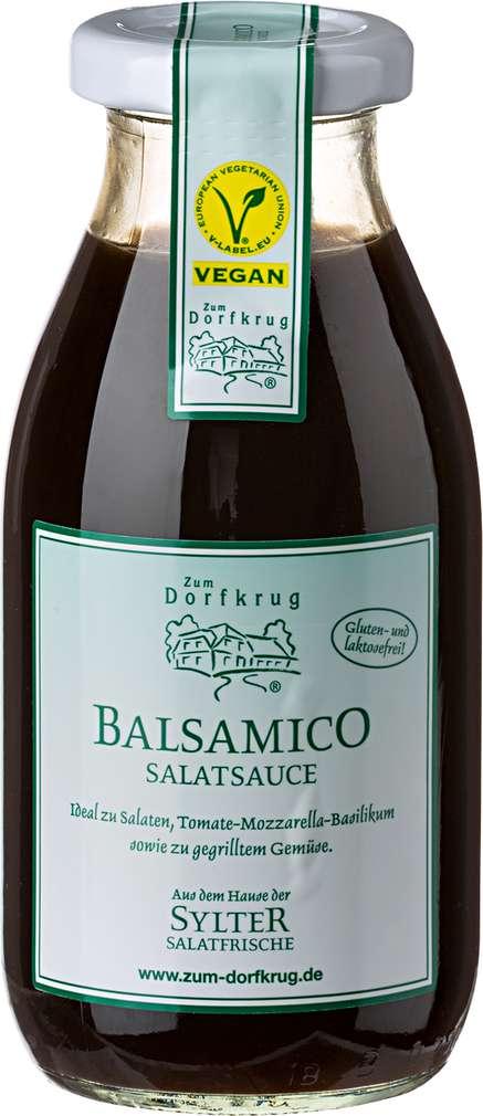 Abbildung des Sortimentsartikels Zum Dorfkrug Sylter Balsamico Salatsauce, vegan 250ml