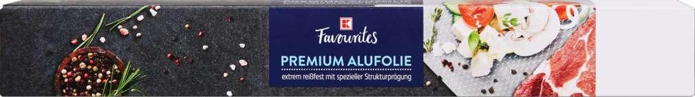 Abbildung des Sortimentsartikels K-Favourites Alufolie 30cmx10m