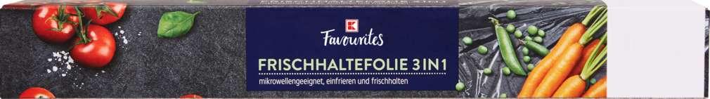 Abbildung des Sortimentsartikels K-Favourites Frischhaltefolie 30cmx20m