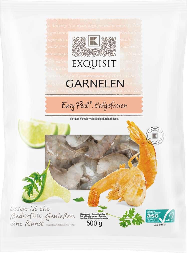 Abbildung des Sortimentsartikels Exquisit Easy Peel Garnelen 500g