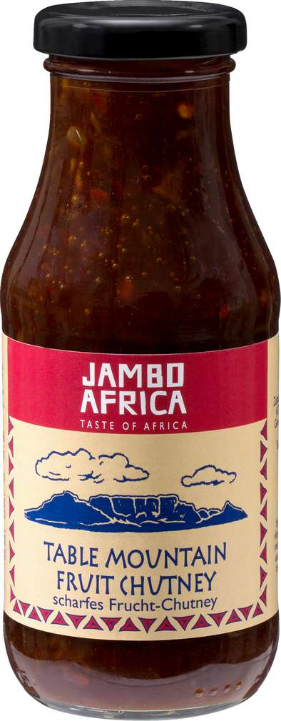Abbildung des Sortimentsartikels Jambo Africa Table Mountain Fruit Chutney 280g