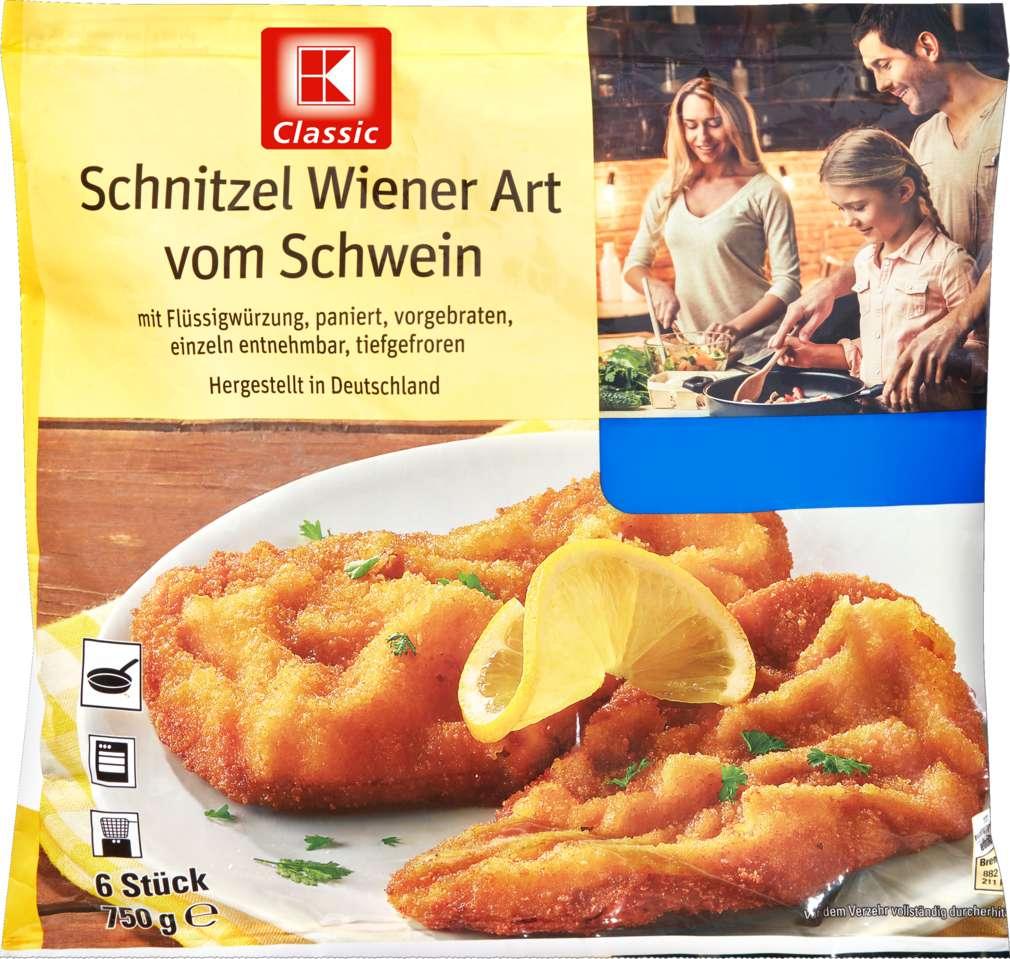 Abbildung des Sortimentsartikels K-Classic Schnitzel Wiener Art 750g
