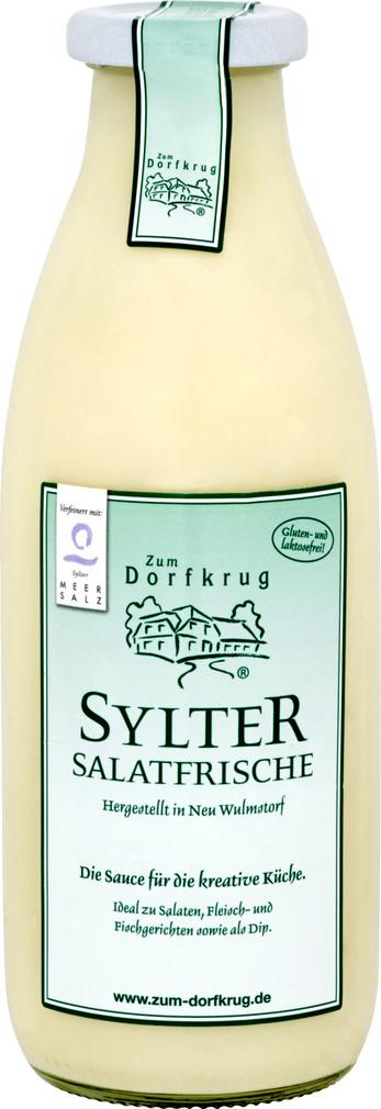 Abbildung des Sortimentsartikels Zum Dorfkrug Sylter Salatfrische 500ml