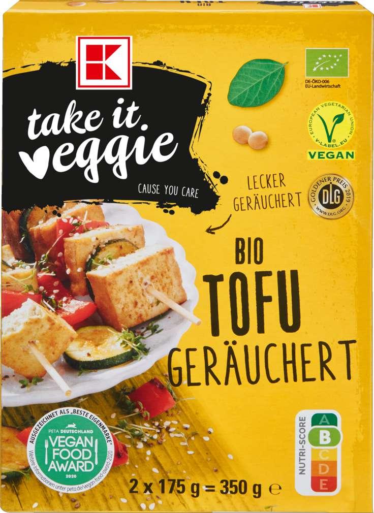 Abbildung des Sortimentsartikels K-Take it Veggie Bio Tofu Geräuchert 2x175g