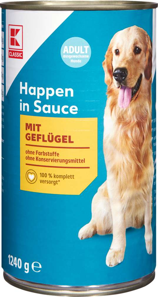 Abbildung des Sortimentsartikels K-Classic Hundenahrung Geflügel 1240g
