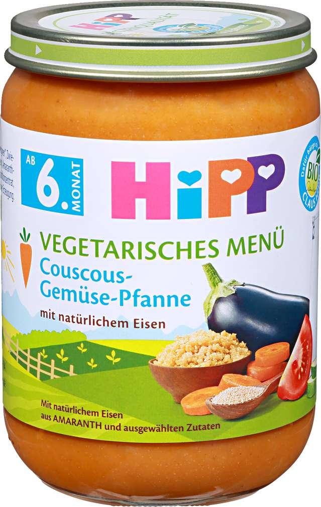 Abbildung des Sortimentsartikels Hipp Hipp Couscous Gemüse-Pfanne ab 6.Monat 190g
