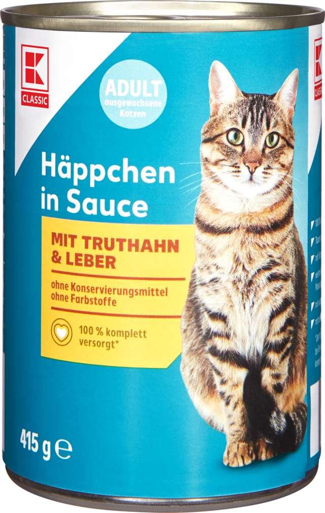 Abbildung des Sortimentsartikels K-Classic Katzennahrung Truthahn+Leber 415g