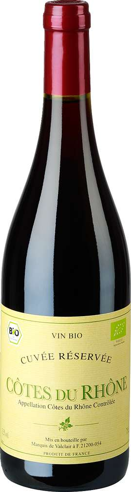 Abbildung des Sortimentsartikels Vin Bio Cuvée Réservée 0,75l