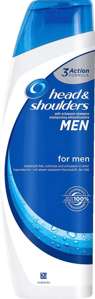 Abbildung des Sortimentsartikels Head & Shoulders Anti-Schuppen Shampoo For Men 300ml