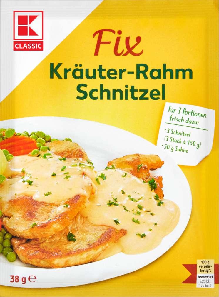 Abbildung des Sortimentsartikels K-Classic Fix für Kräuter-Rahm-Schnitzel 38g