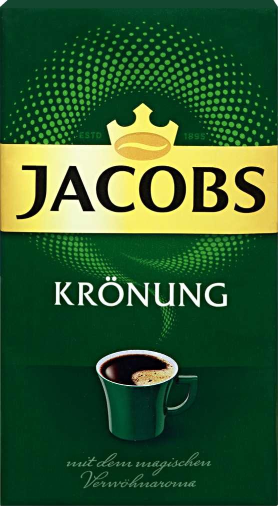 Abbildung des Sortimentsartikels Jacobs Krönung gemahlen 500g