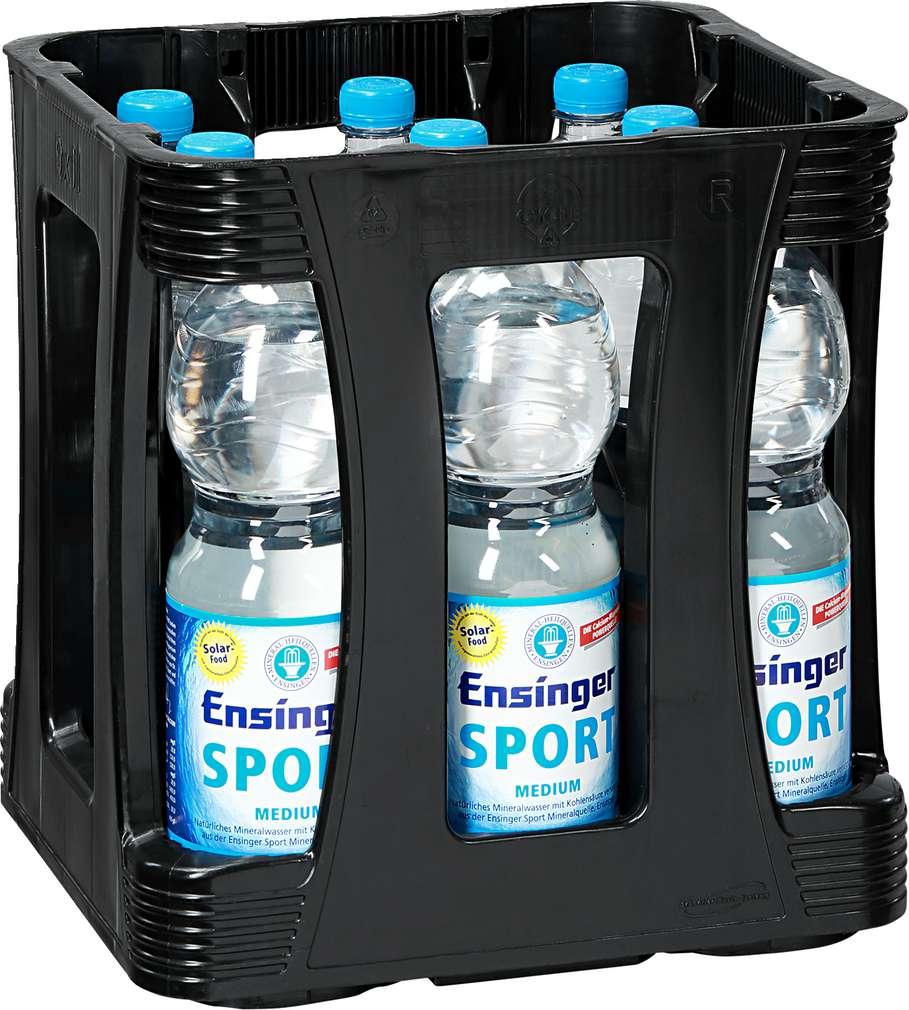 Abbildung des Sortimentsartikels Ensinger Sport Mineralwasser Medium 9/1,0l