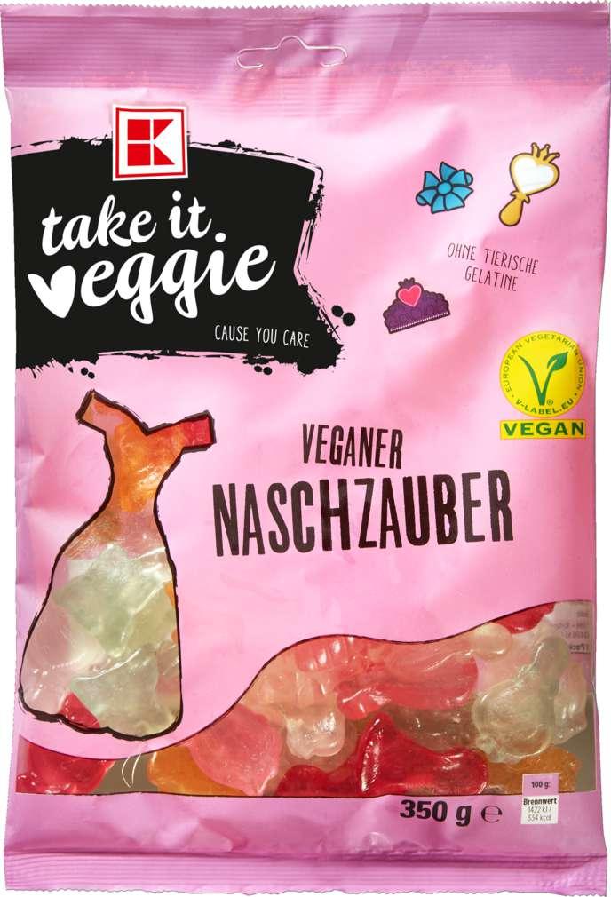 Abbildung des Sortimentsartikels K-Take it Veggie Naschzauber 350g