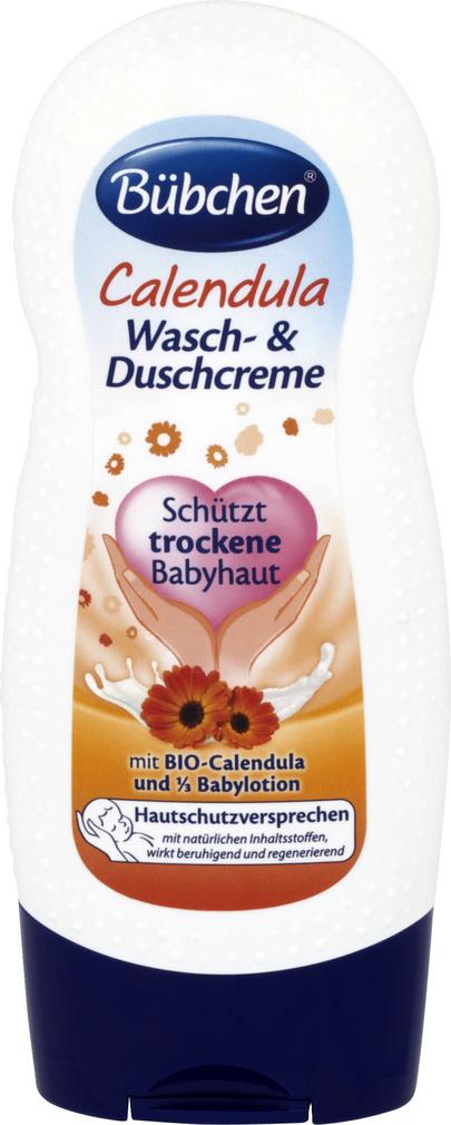 Abbildung des Sortimentsartikels Bübchen Calendula Wasch- & Duschcreme 230ml
