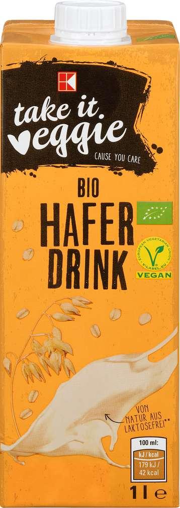 Abbildung des Sortimentsartikels K-take it veggie Bio Hafer Drink 1l