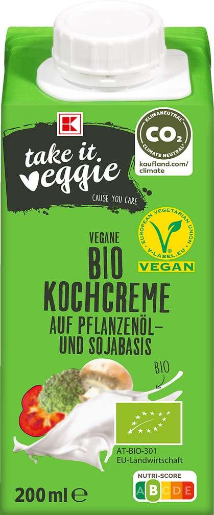 Abbildung des Sortimentsartikels K-Take it Veggie Bio Kochcreme 200ml