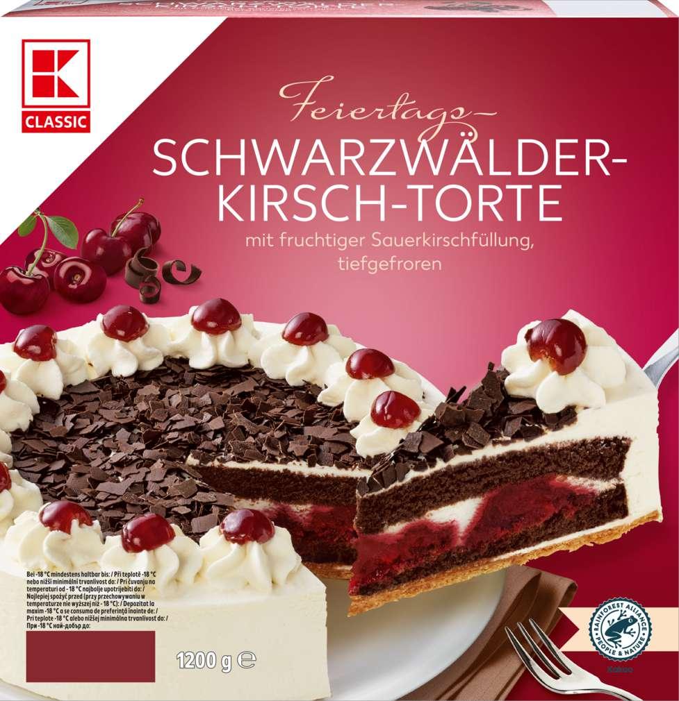 Abbildung des Sortimentsartikels K-Classic Schwarzwälder-Kirsch-Torte 1200g