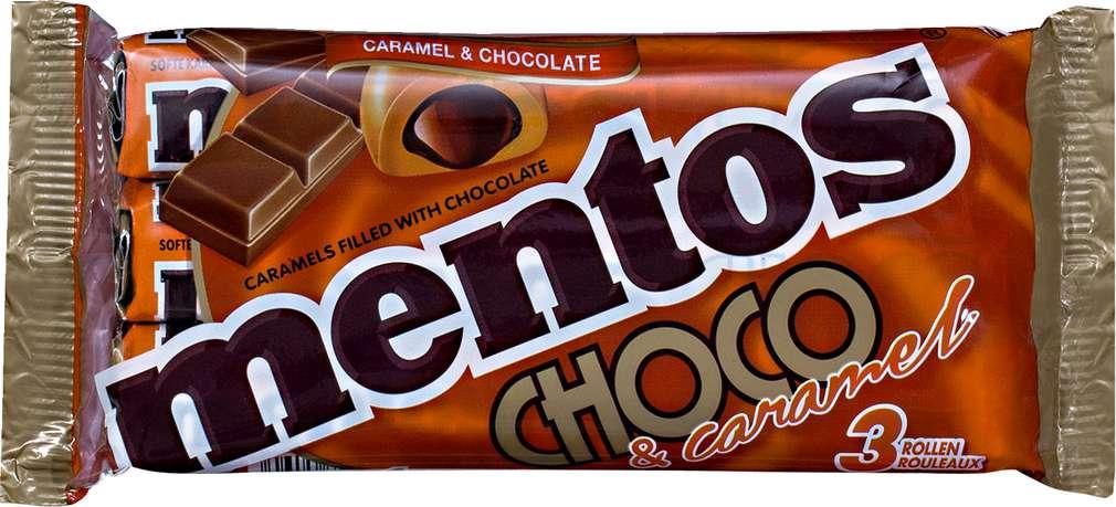 Abbildung des Sortimentsartikels Mentos Choco & caramel