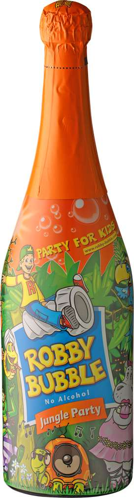 Abbildung des Sortimentsartikels Robby Bubble Jungle Party alkoholfrei 0,75l
