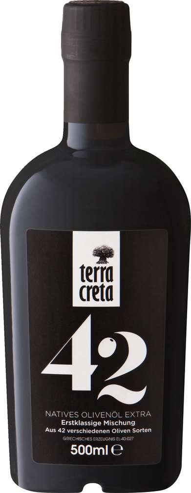 Abbildung des Sortimentsartikels Terra Creta Olivenöl Premium Blend 42 extra virgin 500ml