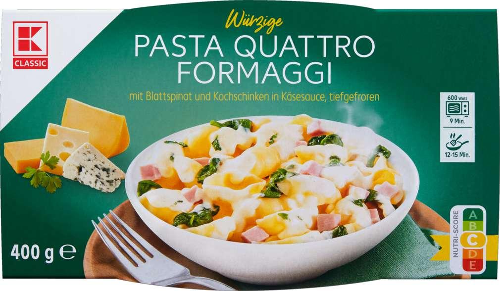 Abbildung des Sortimentsartikels K-Classic Pasta 4 Käse 400g
