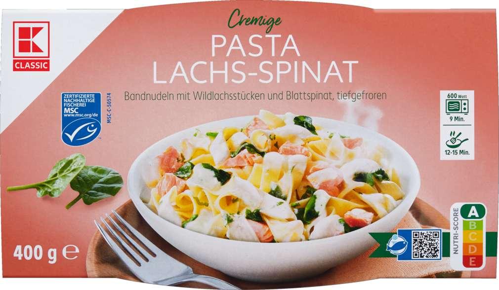 Abbildung des Sortimentsartikels K-Classic Pasta Lachs 400g
