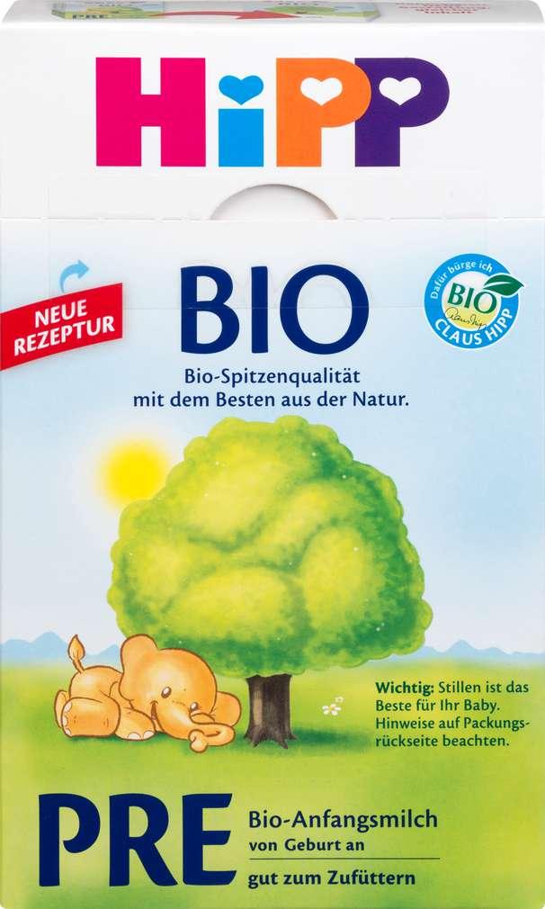 Abbildung des Sortimentsartikels Hipp PRE Bio-Anfangsmilch 600g